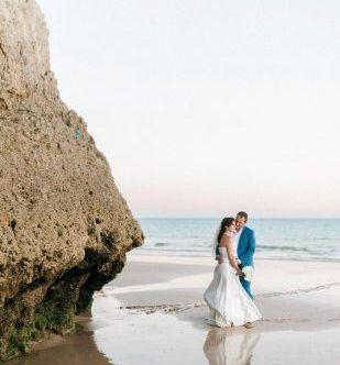 trouwen op het strand