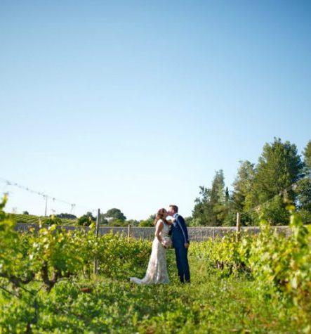 Trouwen op een wijngaard